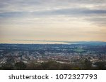 edinburgh landscape  edinburgh... | Shutterstock . vector #1072327793