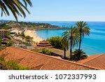 view of coastline of costa... | Shutterstock . vector #1072337993