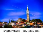 rovinj  croatia   april 15 ... | Shutterstock . vector #1072339103