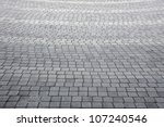 grey stone path - stock photo