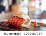 Grilled lobster and vegetables...