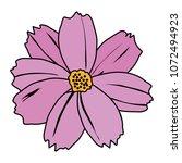 color spring natural flower... | Shutterstock .eps vector #1072494923