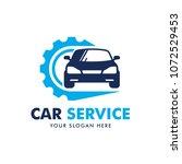 car service logo design vector | Shutterstock .eps vector #1072529453