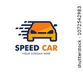 car logo design vector | Shutterstock .eps vector #1072542983