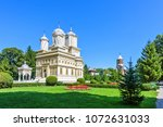 daylight view to monastery... | Shutterstock . vector #1072631033