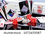 Poker Concept Playing Cards...