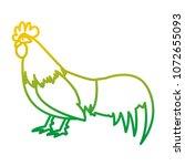 degraded line rooster farm...   Shutterstock .eps vector #1072655093