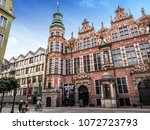 gdansk  poland  19 april 2018 ... | Shutterstock . vector #1072723793