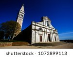 church in rovinj  croatia | Shutterstock . vector #1072899113