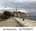 rovinj  croatia   april 15 ... | Shutterstock . vector #1072900097