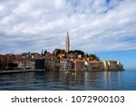 rovinj  croatia   april 15 ... | Shutterstock . vector #1072900103