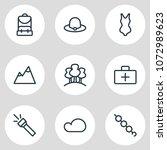 vector illustration of 9... | Shutterstock .eps vector #1072989623