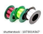 nylon three colors   red light  ... | Shutterstock . vector #1073014367