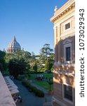 vatican  italy   september 6 ... | Shutterstock . vector #1073029343