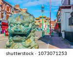 View Of The Chinatown Gate In...