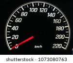 Small photo of car speedo meter