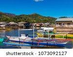 coron palawan philippines april ...   Shutterstock . vector #1073092127