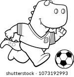 a cartoon illustration of a... | Shutterstock .eps vector #1073192993