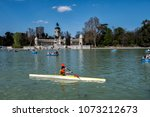 madrid  spain   april 18th ... | Shutterstock . vector #1073212673