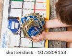 berlin  germany   april 20 ...   Shutterstock . vector #1073309153