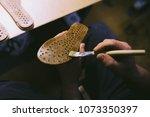 experienced footwear industry... | Shutterstock . vector #1073350397