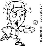 a cartoon illustration of a... | Shutterstock .eps vector #1073357537