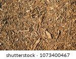 Brown Woodchip Mulch Backgroun...
