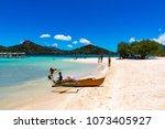 coron palawan philippines april ...   Shutterstock . vector #1073405927