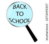 back to school | Shutterstock .eps vector #1073459357