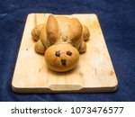 cute bunny bread is a must at... | Shutterstock . vector #1073476577