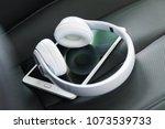 modern wireless internet... | Shutterstock . vector #1073539733