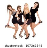 Fashion ladies - stock photo