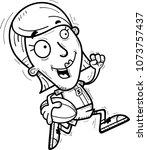 a cartoon illustration of a... | Shutterstock .eps vector #1073757437