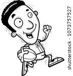a cartoon illustration of a... | Shutterstock .eps vector #1073757527
