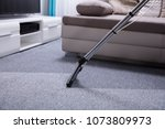close up of a vacuum cleaner... | Shutterstock . vector #1073809973
