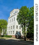 lviv old architecture cityscape ... | Shutterstock . vector #1073872217