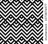 seamless arrows and zigzag... | Shutterstock .eps vector #1073876477