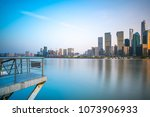 architectural landscape and... | Shutterstock . vector #1073906933