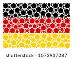 germany state flag composition...   Shutterstock .eps vector #1073937287