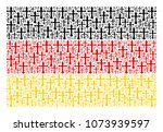 german flag composition... | Shutterstock .eps vector #1073939597