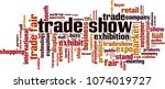 trade show word cloud concept....   Shutterstock .eps vector #1074019727