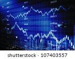 stock market graphs | Shutterstock . vector #107403557