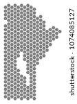 gray hexagon manitoba province... | Shutterstock .eps vector #1074085127