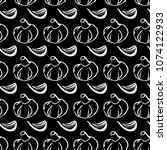 seamless vector pattern of... | Shutterstock .eps vector #1074122933