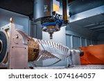 metalworking cnc milling... | Shutterstock . vector #1074164057