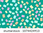 seamless pattern of the... | Shutterstock .eps vector #1074424913