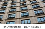 skyscraper. windows. modern... | Shutterstock . vector #1074481817