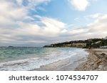 beach vacation at caribbean....   Shutterstock . vector #1074534707