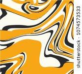 marbel fluid liquid vector... | Shutterstock .eps vector #1074573533