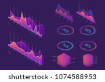 vector isometric infographic... | Shutterstock .eps vector #1074588953